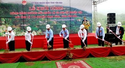 Yên Bái: Khởi công 2 công trình chào mừng Đại hội Đảng bộ tỉnh lần thứ XIX