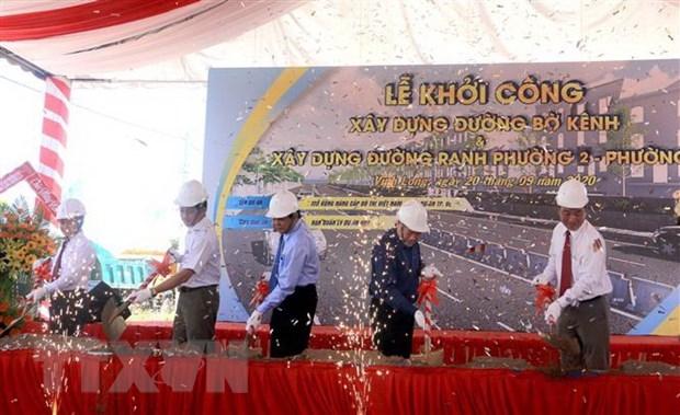 Vĩnh Long: Khởi công 2 công trình có tổng mức đầu tư gần 274 tỷ đồng