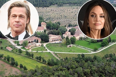 Brad Pitt và Angelina Jolie tranh chấp tài sản giá 164 triệu USD