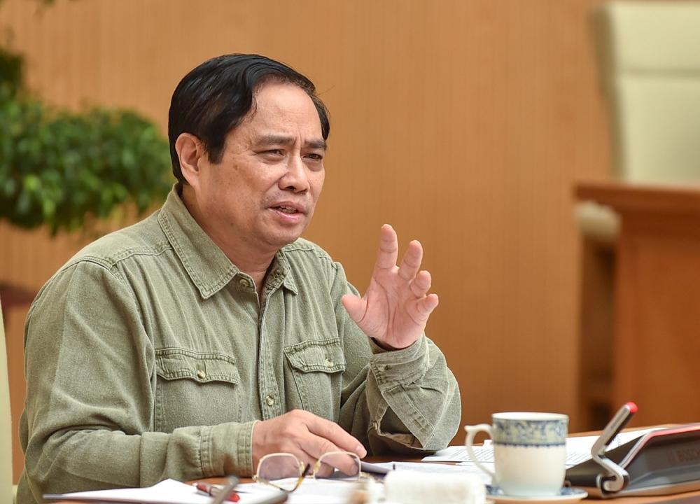 Thủ tướng Phạm Minh Chính chủ trì cuộc họp Ban chỉ đạo quốc gia phòng chống dịch Covid-19