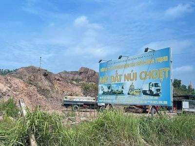 Thái Nguyên: Ngăn chặn tình trạng khai thác, tàng trữ, vận chuyển, tiêu thụ khoáng sản trái phép