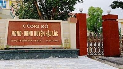 Hậu Lộc (Thanh Hóa): Khởi tố Trưởng phòng Tài nguyên và Môi trường liên quan đến sai phạm về đất đai