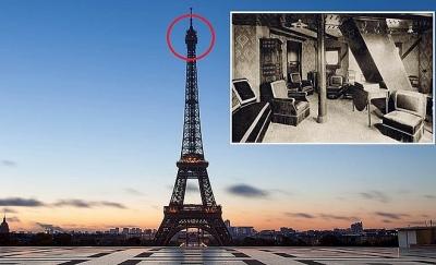 Căn hộ bí mật trên đỉnh tháp Eiffel
