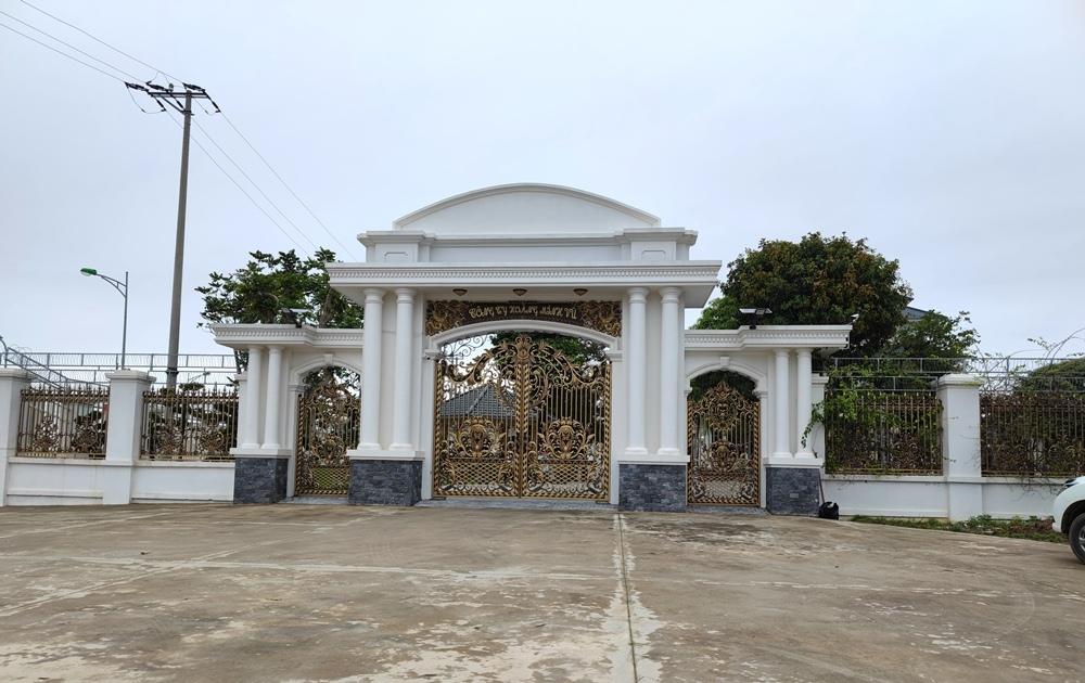 Thanh tra tỉnh Thanh Hóa chỉ ra hàng loạt sai phạm tại dự án Khu hỗn hợp thương mại dịch vụ xã Đông Tân