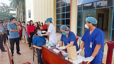 Thành phố Việt Trì (Phú Thọ): Thần tốc xét nghiệm sàng lọc 100% người dân trên địa bàn