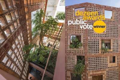 Ngôi nhà gạch đỏ ở Bát Tràng đạt giải thưởng quốc tế về kiến trúc