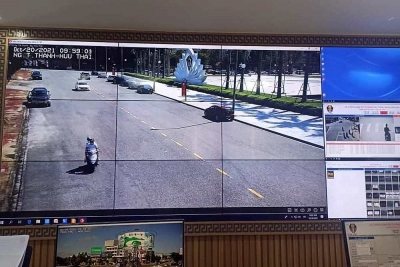 Thành phố Hà Tĩnh: Xây dựng hệ thống giám sát trật tự đô thị và an toàn giao thông