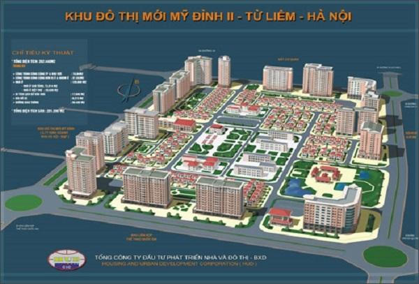 Hà Nội: Điều chỉnh cục bộ ô đất công cộng Khu đô thị mới Mỹ Đình II thành chung cư, nhà ở liền kề