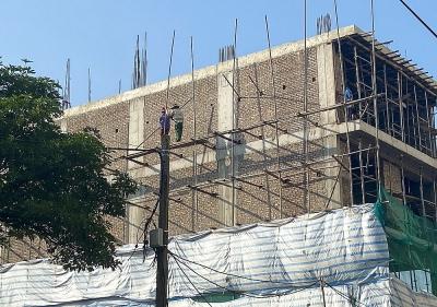Công trình xây dựng dân dụng đẩy nhanh tiến độ những tháng cuối năm