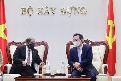Bộ trưởng Nguyễn Thanh Nghị tiếp Đại sứ Singapore Jaya Ratnam