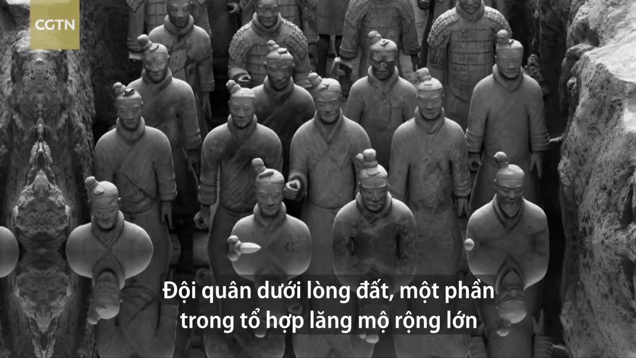 Đội quân 7.000 chiến binh trong mộ Tần Thủy Hoàng
