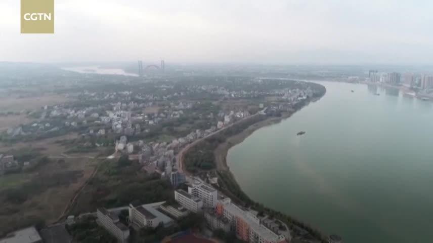 Cầu vòm dài hơn 1.000 m vượt sông ở Trung Quốc