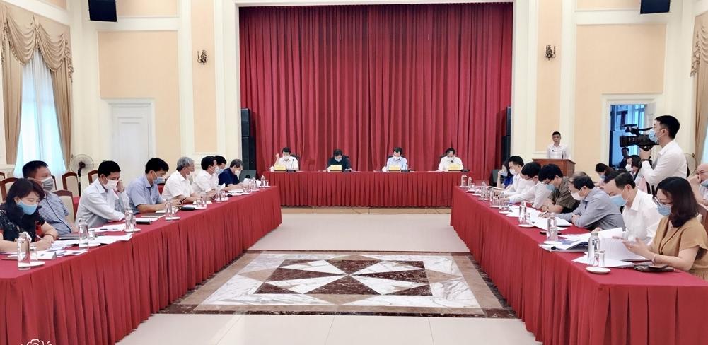 Bộ Xây dựng tổ chức Hội nghị giao ban thực hiện nhiệm vụ tháng 5 và nhiệm vụ trọng tâm tháng 6/2021