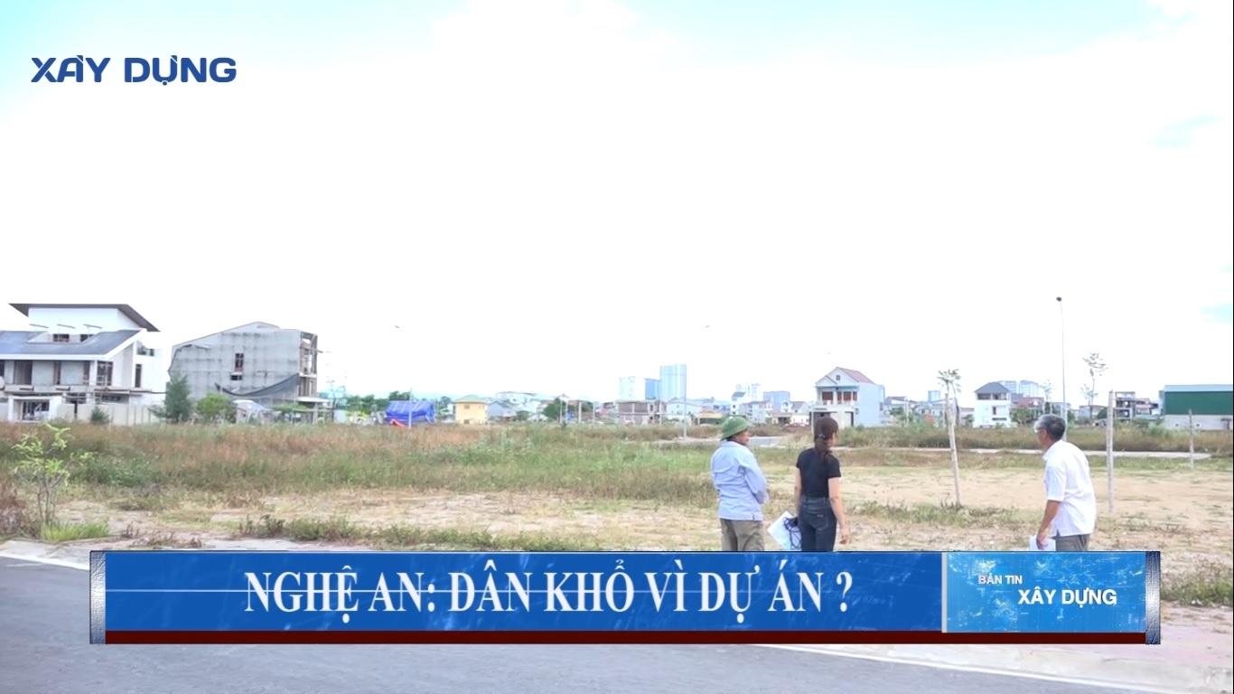Nghệ An: Dân khổ vì dự án