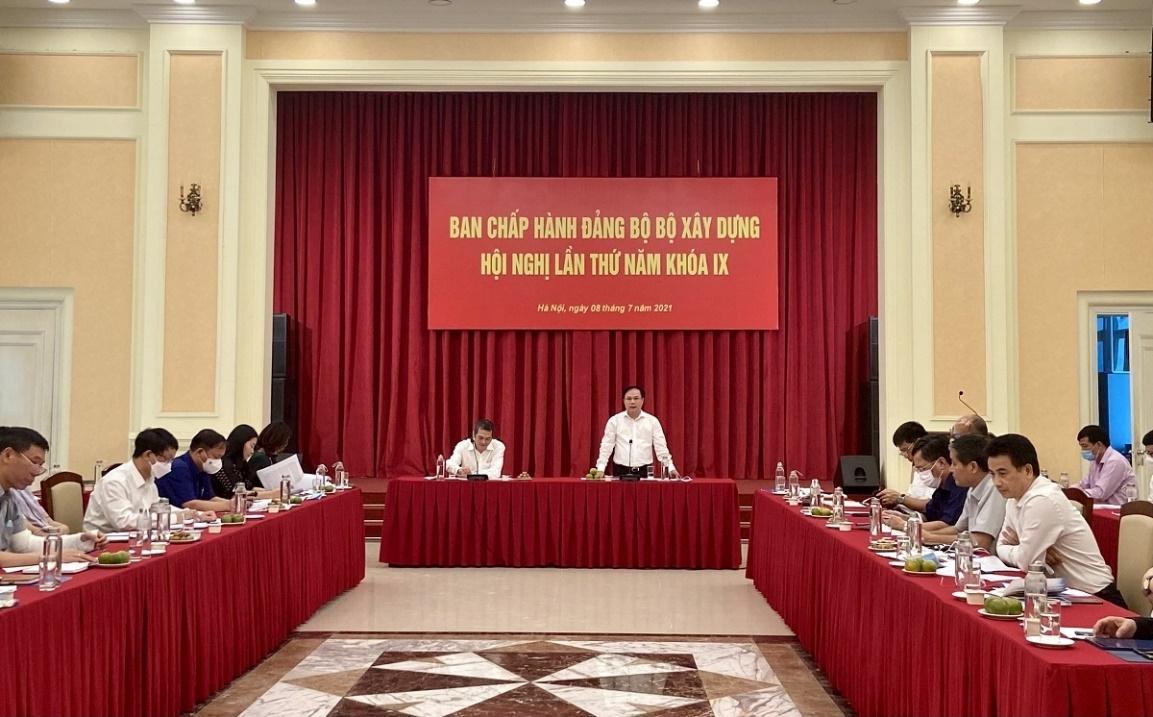 Hội nghị Ban chấp hành Đảng bộ Bộ Xây dựng lần thứ năm khóa IX