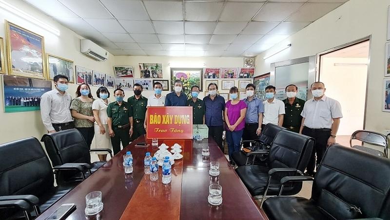 Báo Xây dựng thăm hỏi, động viên các thương, bệnh binh trước thềm ngày Thương binh – Liệt sỹ Việt Nam