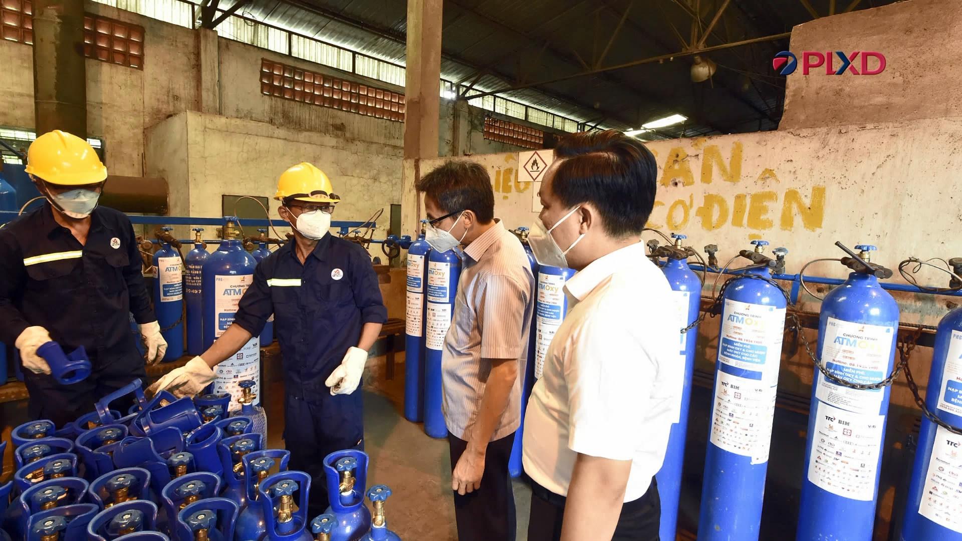Động viên các nguồn lực giúp Thành phố Hồ Chí Minh chống dịch