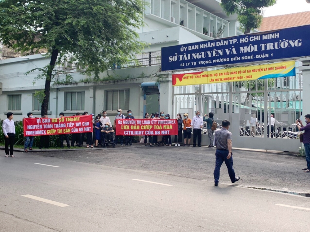 Sở Tài nguyên và Môi trường Thành phố Hồ Chí Minh đối thoại với nhà đầu tư Tòa nhà văn phòng Citilight
