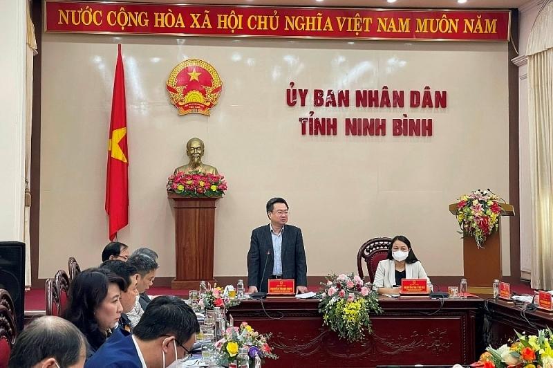 Bộ trưởng Bộ Xây dựng: Ninh Bình cần tập trung nguồn lực để tăng trưởng bền vững