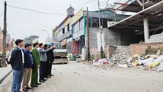 Tam Đảo (Vĩnh Phúc): Xử lý vi phạm trật tự xây dựng, chính quyền quyết liệt, nhân dân tự nguyện