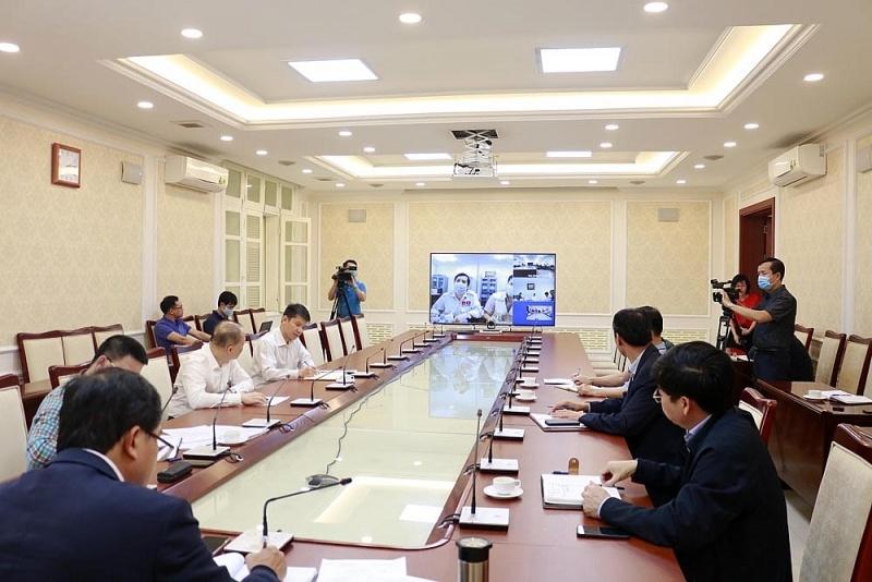 Bộ Xây dựng họp trực tuyến chỉ đạo triển khai dự án Nhà Quốc hội Lào