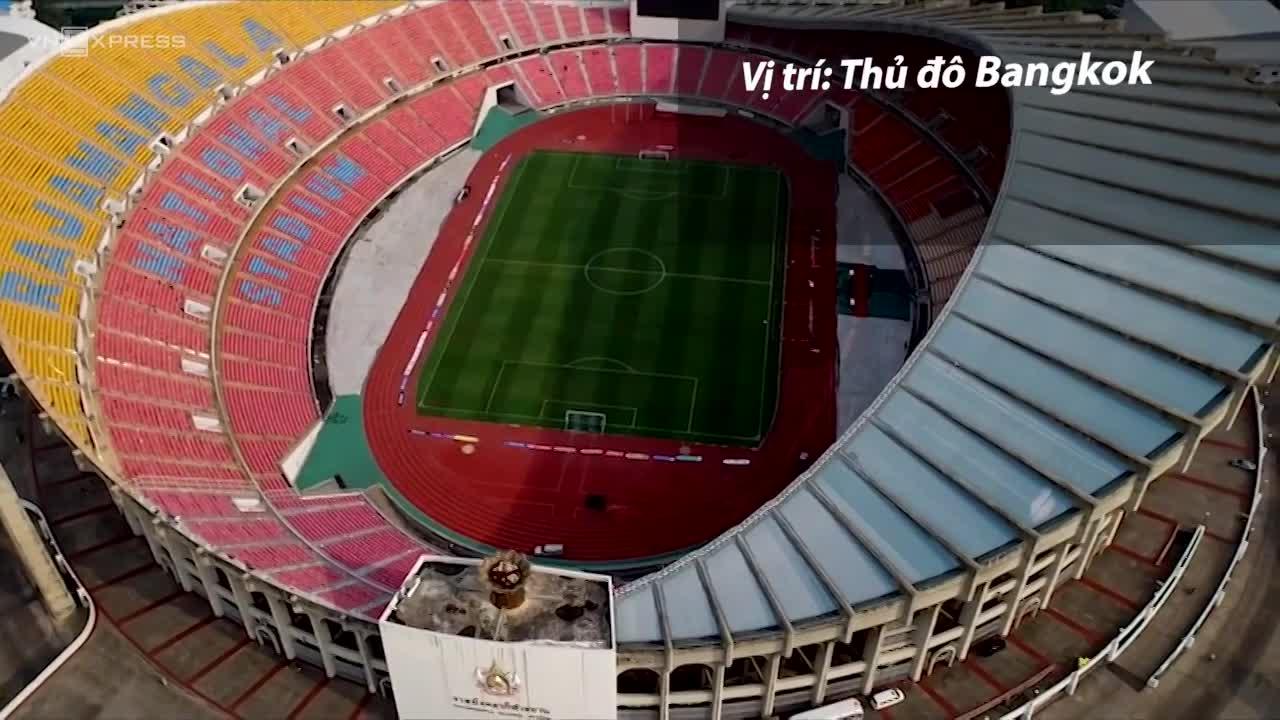 Ba sân bóng U23 Việt Nam sẽ thi đấu tại Thái Lan
