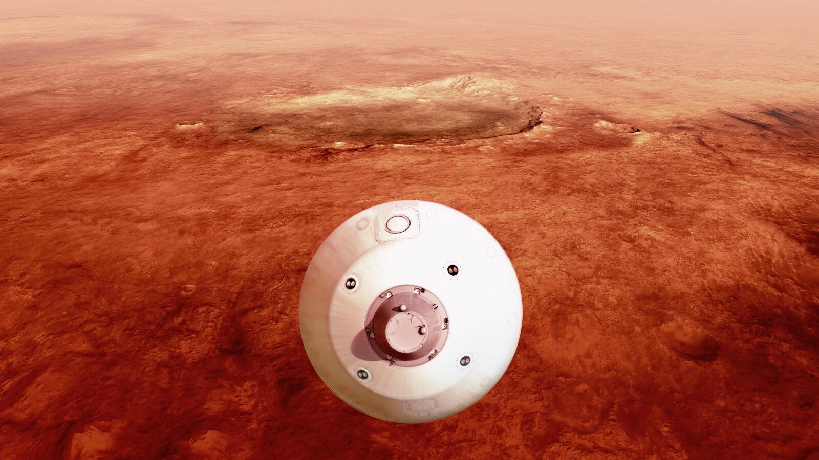 NASA công bố hình ảnh chưa từng có về Hỏa tinh