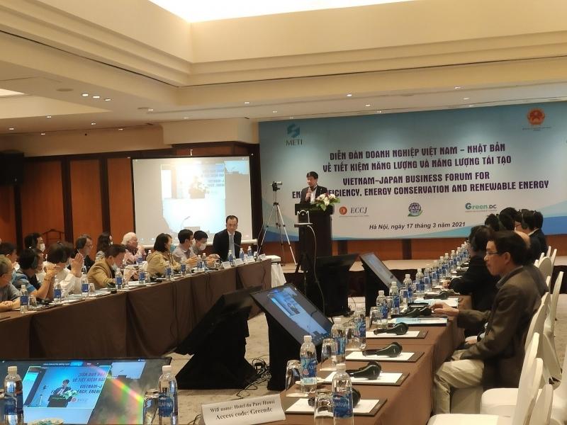 Diễn đàn Việt - Nhật về tiết kiệm năng lượng và năng lượng tái tạo