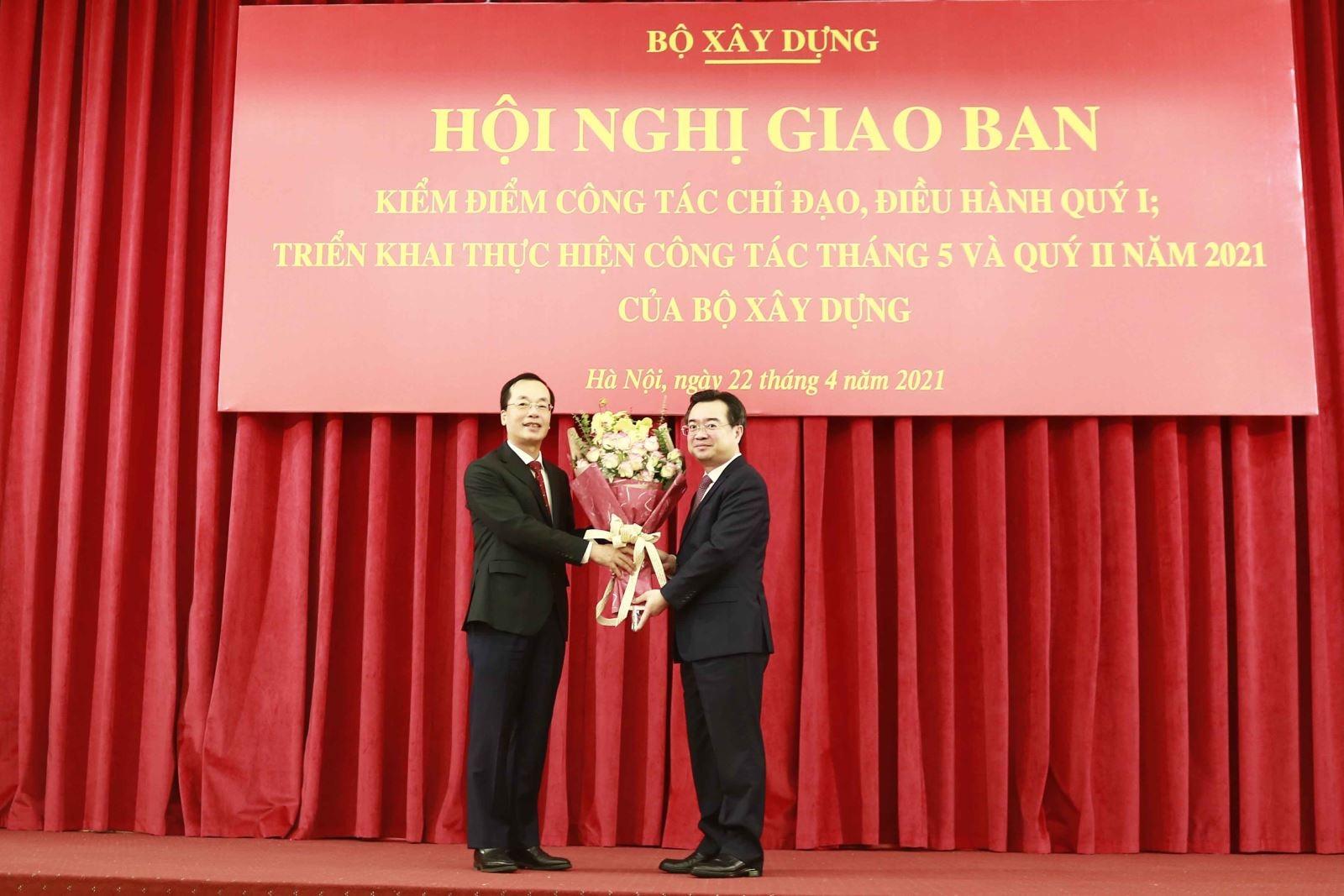 Bộ trưởng Nguyễn Thanh Nghị chủ trì Hội nghị triển khai công tác Quý II/2021 của Bộ Xây dựng