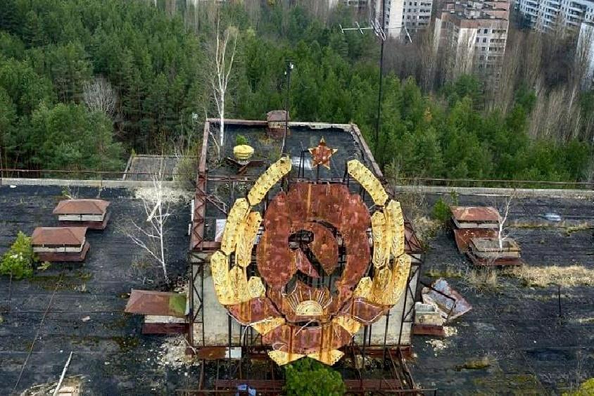 Du lịch đến thị trấn gần Chernobyl sau 35 năm thảm họa