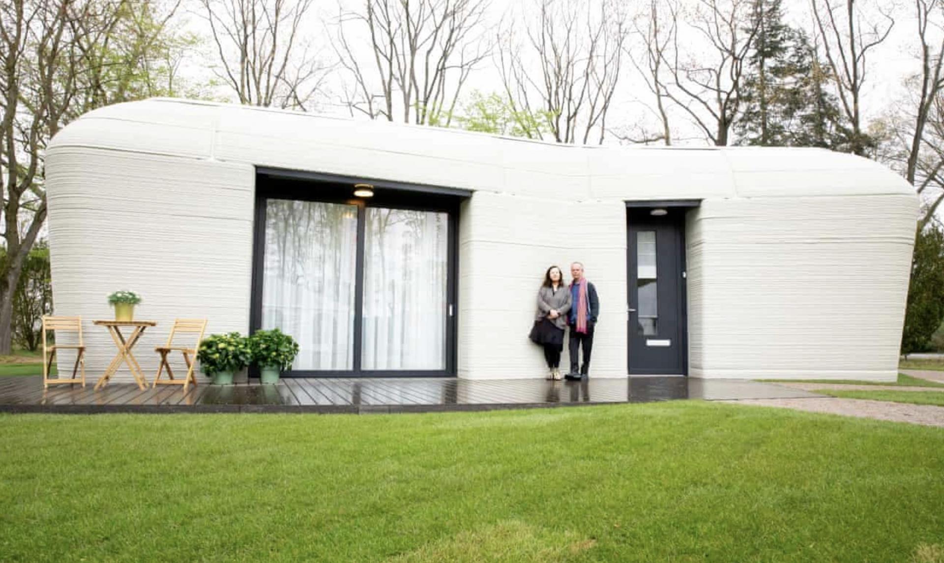 Ngôi nhà 3D đầu tiên ở châu Âu đã có người đến ở