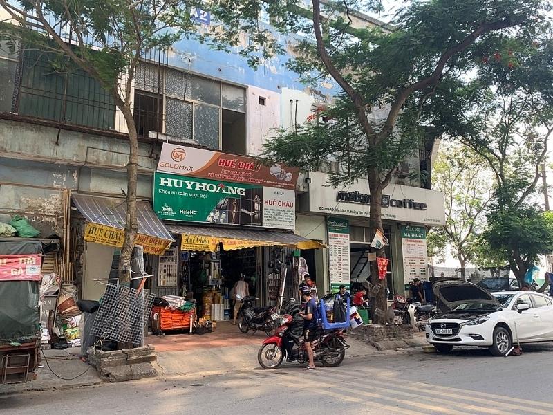 Hà Nội: Nhiều bất cập trong việc sử dụng diện tích tầng 1 nhà tái định cư